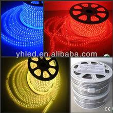 China led light 50m/Roll 100 meter flexible wire 5050 220V 60 led/m strip celing lighting rgb led