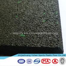 Outdoor waterproof basketball , handball rubber flooring court