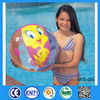 Summer sports game products inflatable transparent beach ball