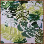 Digital Textile Printing Customized Digital Pure Silk Georgette / Chiffon Fabric