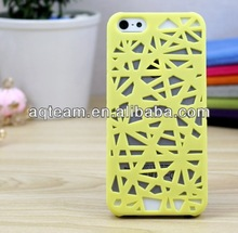 Simple Hollow Bird Nest case For iphone 5