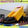 Popular Log Tire Inflatable Toboggan Slide
