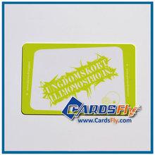 High quality Credit Card Size cr80 pvc pantone color card