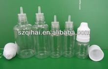 2014 new design 5ml/10ml/15ml/20ml/30ml/50 PET plastic bottles for e liquid with childproof&tamper proof cap