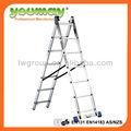 Alumínio en131 2- secção escada combinação ac0207a/escada do sotão/kinder surpresa/super escada