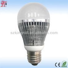 hot selling ce rohs aluminum hest sink plastic cover 5w led bulb gu10