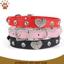 Rhinestone Dog Collar Leash