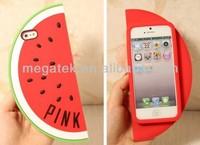 watermelon 3d cartoon phone case for iphone 5