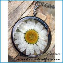P~Wholesale fashion amazing pressed flower jewelry