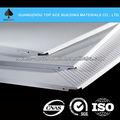 Material de construcción de aluminio del techo perforado, de aluminio clip en el techo de diseño, techo de metal