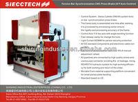 PRH 400/4000 CNC high performance bending machine price electro-hydraulic press brake 400 tons sheet metal plate