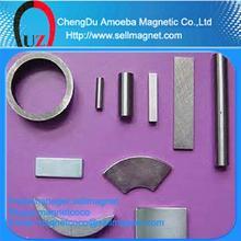smco magnet 100mm long ferrite magnet