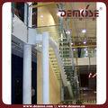 público de vidrio escaleras interior precio