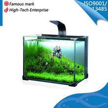 new design glass goldfish aquarium tank