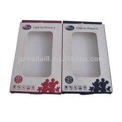 good quality cellphone box with competitive price cellphone box with plastic lid