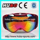 custom design silicone strap most value skiing glasses for winter sports