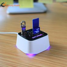 LED Light / Micro SD / Mini USB Card Reader