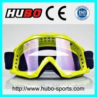 CE certificated adjustable strap motorbike racing helmet goggles