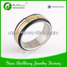 Black Brushed Tungsten Carbide Men/Women Wedding Ring