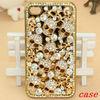 Bling glitter diamond chrome rhinestone phone case for iphone 5s , diamond case for iphone 5s