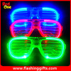 wholesale led Flashing red plastic party glass plastic funny party glasses