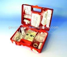 CE FDA 10 Person- 52 piece bulk kit- plastic case- 1 ea. At Home Emergency