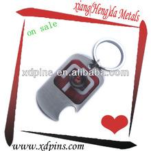 printed metal dog tag key chain in zhongshan