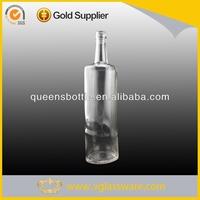 700ml clear glass liquor bottles for international brand liquor