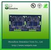 Electronics pcb components assembly for temperature sensor