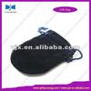 black round velvet bags