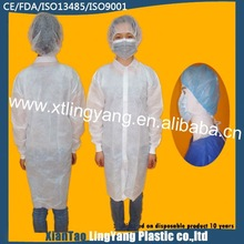 Nonwoven Disposable Visitor Coat Latest Nurse Dress