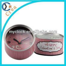 Manual alarm clock,alarm clock decorative,desk globe clock