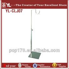 U shape metal handbag display stand,Hanger bag display rack