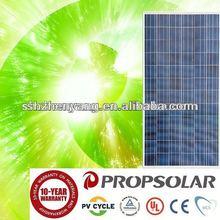 High Quality Poly solar panel 270W,6 volt solar panel, 2000 watt solar panels