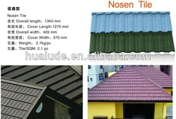 High Quality &Best Price Stone Coated Metal Roof Tile with 50 Years Warranty