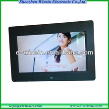 10 inch Ultra thin Wifi Digital Photo Frame with Loop Video,JPG Photo Slideshow