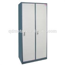 Steel 2 Doors Living Room Locker/clothing cabinet/office wardrobe