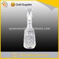licor de fantasía de vidrio botella de vino botella de diseño de licor
