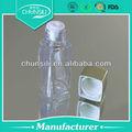 Garrafas pet plástico sucata vazias de plástico mini tamanho garrafa de loção