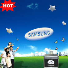2014 Creative product with floating bubble logo&sign substitute for led tv display