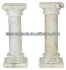 artificial marble decorative garden stone pillars