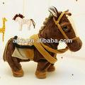 handmade welcom do cavalo de pelúcia brinquedos