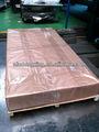 Soldadura del radiador paneles 4A17 aleación de aluminio láminas Material en cajas de madera