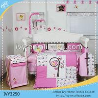 Girl princess kids bedding set for baby bedrooms
