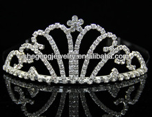 Wedding Bridal Tiara Rhinestone Silver Crystal Crown