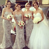 2014 Sweetheart Lace Floor Length Long Maid Of Honor Mermaid Bridesmaid Dress Brides Maid Dress vestido de dama de honra