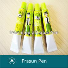 Popular Cartoon Toothpaste School Gift Promotional Mini Felt Tip Pen