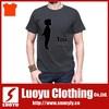 Custom cut and sew plain t shirt wholesale china