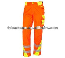reflective safety waterproof trousers for workers