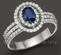 2014 Fashion Luxury Zircon wedding silver by mail